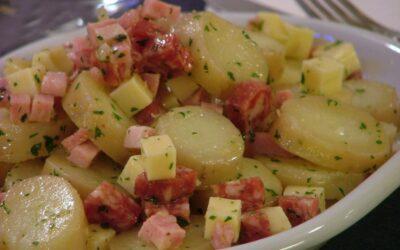 Salame e patate