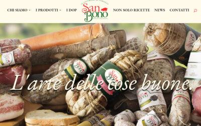 Il nuovo sito San Bono è online
