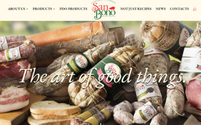 The new San Bono website is online