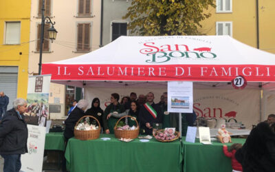 "San Bono took part in the ""I Sapori del Borgo"" event and won again this year"